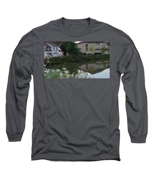 Village Life Long Sleeve T-Shirt by Cheryl Miller