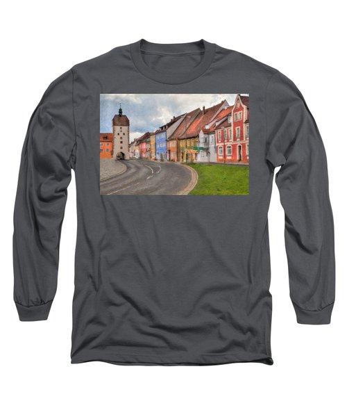 Vilseck Marktplatz Long Sleeve T-Shirt
