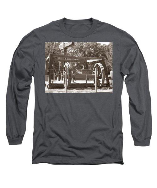 Vintage Oil Rig Santa Rita No. 1 Long Sleeve T-Shirt