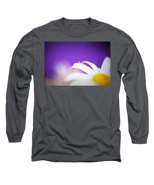 Violet Daisy Dreams Long Sleeve T-Shirt