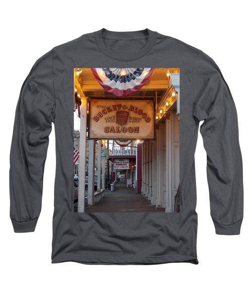 Virginia City Signs Long Sleeve T-Shirt