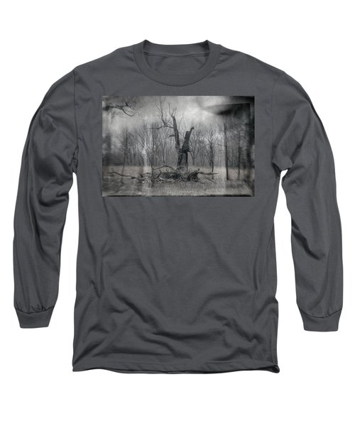 Visitor In The Woods Long Sleeve T-Shirt