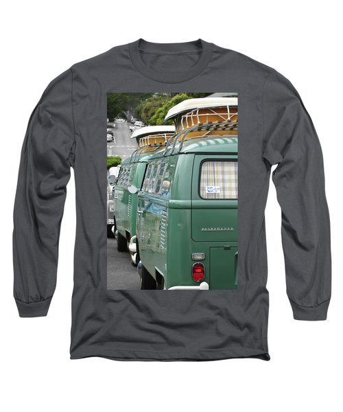 Volkswagen Vw Bus Long Sleeve T-Shirt