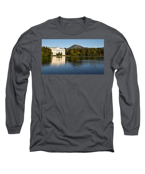 Long Sleeve T-Shirt featuring the photograph Von Trapp's Mansion by Silvia Bruno
