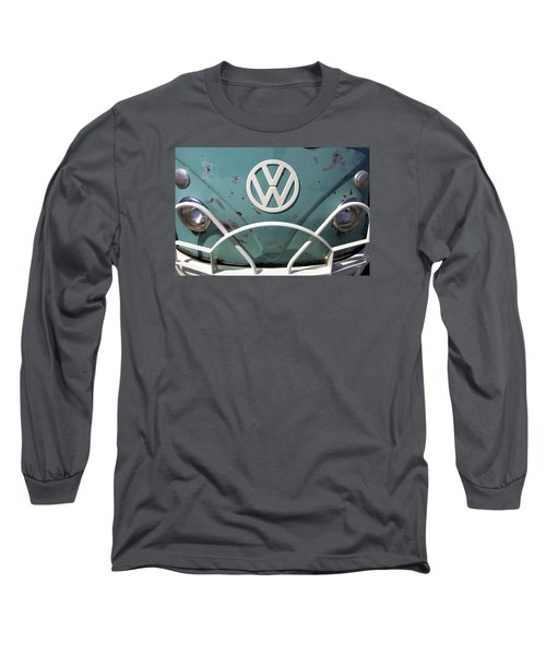 Long Sleeve T-Shirt featuring the photograph Vw Oldie But Goodie by Jane Eleanor Nicholas