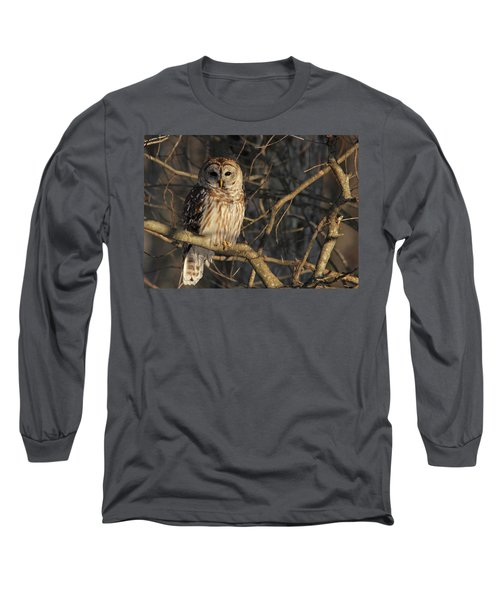 Waiting For Supper Long Sleeve T-Shirt by Lori Deiter