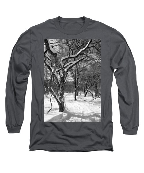 Walk In The Snow Long Sleeve T-Shirt
