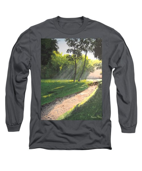 Walk Into The Light Long Sleeve T-Shirt