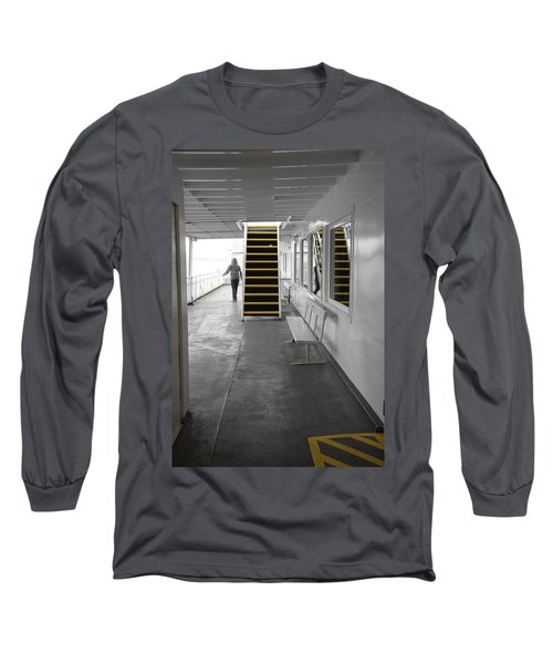 Long Sleeve T-Shirt featuring the photograph Walk This Way by Marilyn Wilson