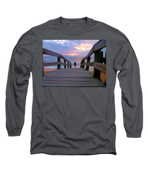 Walking Into Paradise Long Sleeve T-Shirt