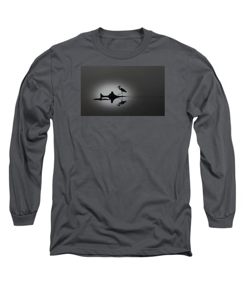 Walking On The Water Long Sleeve T-Shirt by Menachem Ganon
