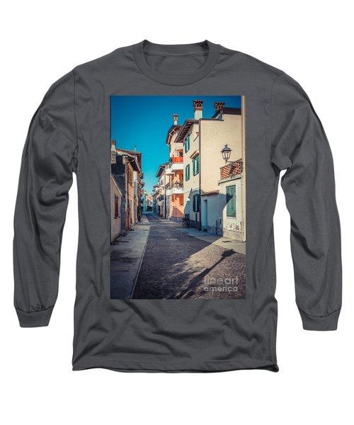 walking through Grado - through the past Long Sleeve T-Shirt