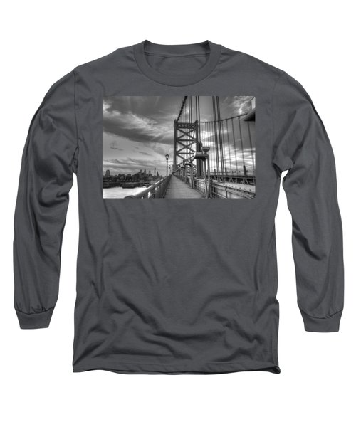 Walking To Philadelphia Long Sleeve T-Shirt