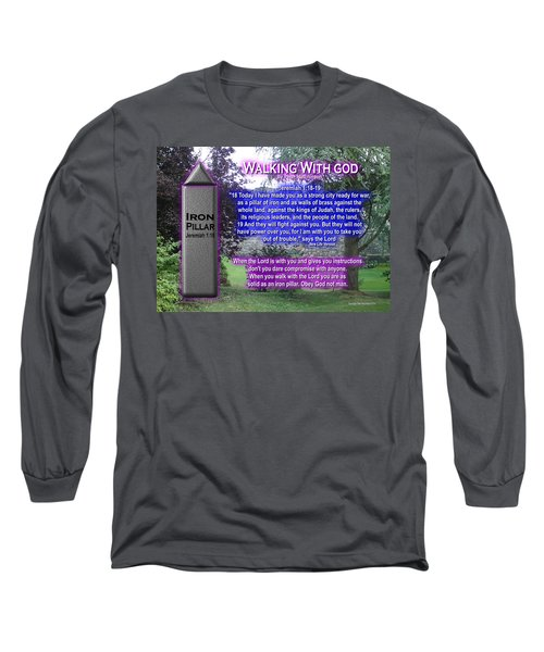 Walking With God Long Sleeve T-Shirt