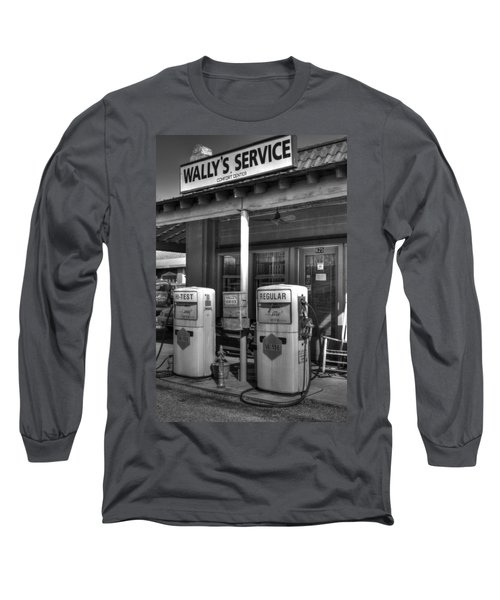 Wally's Service Station Long Sleeve T-Shirt