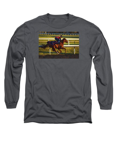 Morning Work Out Long Sleeve T-Shirt