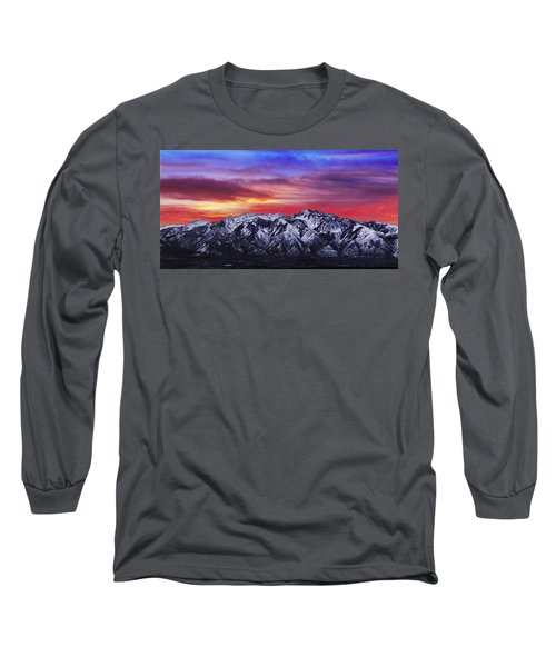 Wasatch Sunrise 2x1 Long Sleeve T-Shirt
