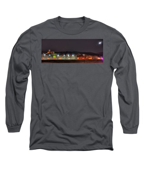 Washington Hall At Night Long Sleeve T-Shirt