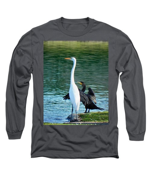 Watch This Long Sleeve T-Shirt by Deb Halloran