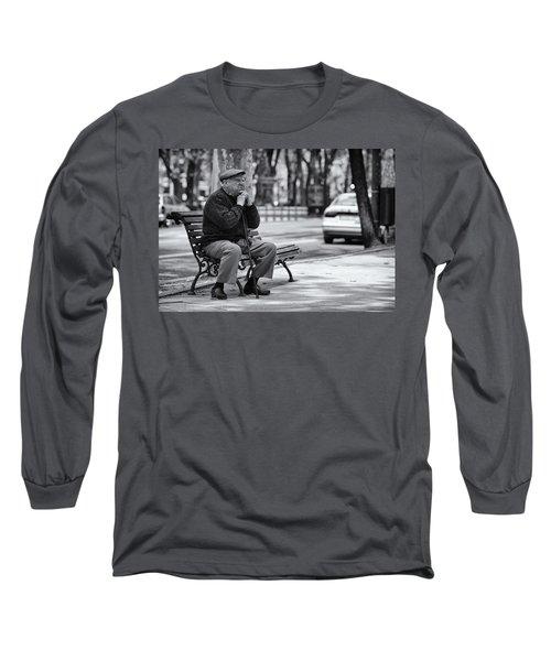 Watching Life Pass Long Sleeve T-Shirt