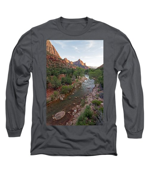 Watchman Sunset Long Sleeve T-Shirt