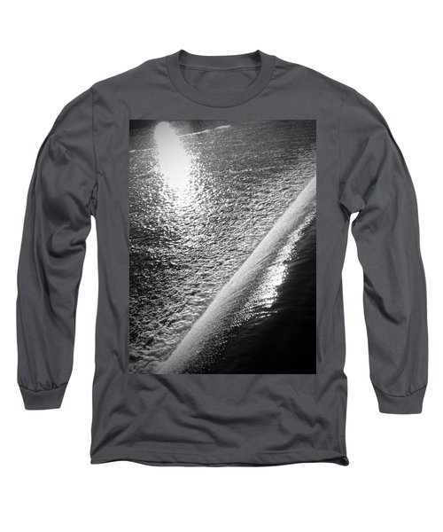 Water And Light Long Sleeve T-Shirt by Photographic Arts And Design Studio