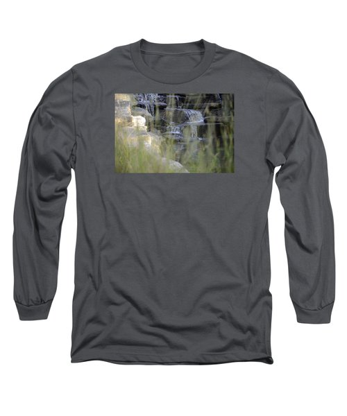 Water Is Life 1 Long Sleeve T-Shirt by Teo SITCHET-KANDA