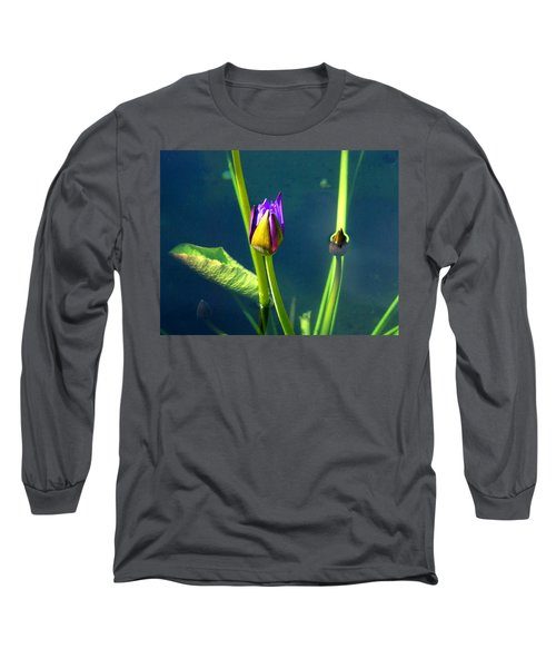 Water Lily 005 Long Sleeve T-Shirt