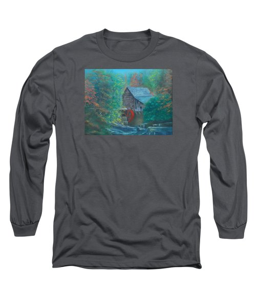 Water Wheel House  Long Sleeve T-Shirt