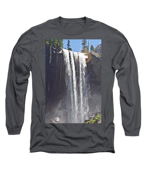 Waterfall Long Sleeve T-Shirt by Brian Williamson