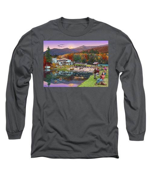 Waterville Estates In Autumn Long Sleeve T-Shirt