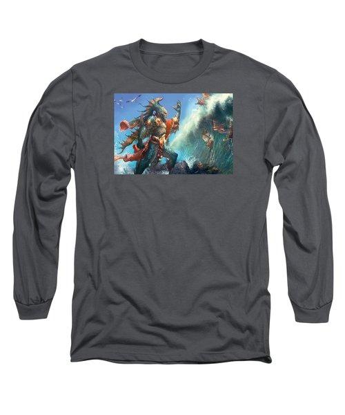 Wavecrash Triton Long Sleeve T-Shirt