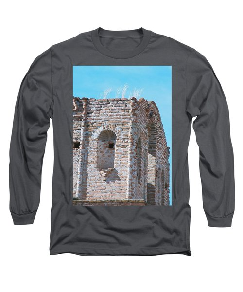 Long Sleeve T-Shirt featuring the photograph Waving To The Sky by Kerri Mortenson