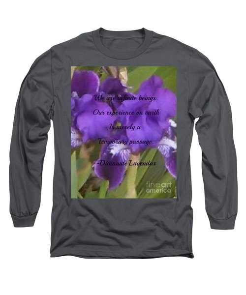 We Are Infinite Beings Long Sleeve T-Shirt