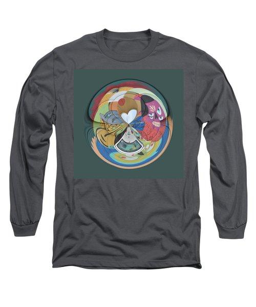 Weird Orb  Long Sleeve T-Shirt