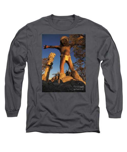 Welcome Long Sleeve T-Shirt by Janice Westerberg