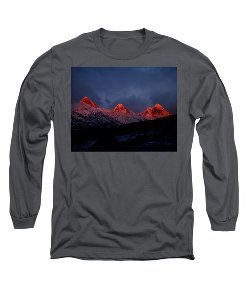 West Side Teton Sunset Long Sleeve T-Shirt