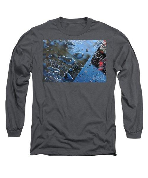 Long Sleeve T-Shirt featuring the photograph Wet Car by Randi Grace Nilsberg
