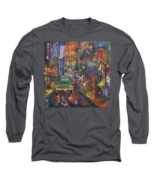 Wet China Lights Long Sleeve T-Shirt