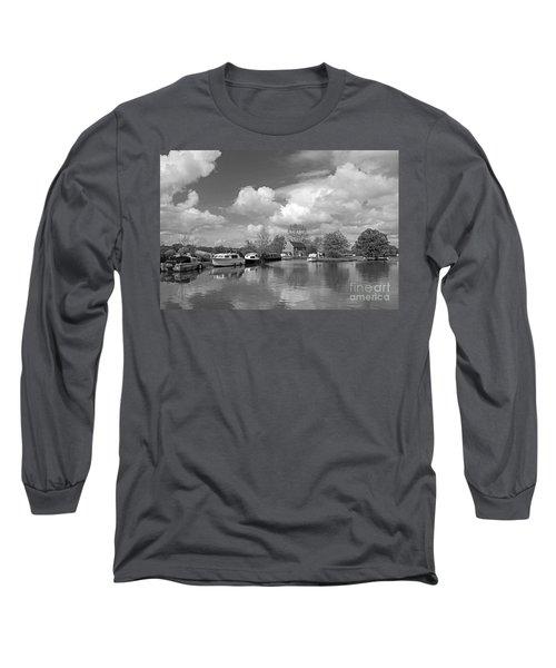 Wey Canal Ripley Surrey Long Sleeve T-Shirt