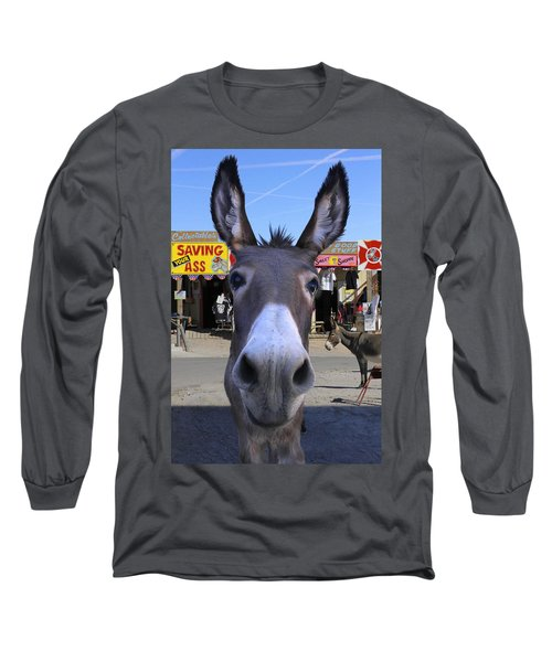 What . . . No Carrots Long Sleeve T-Shirt by Mike McGlothlen