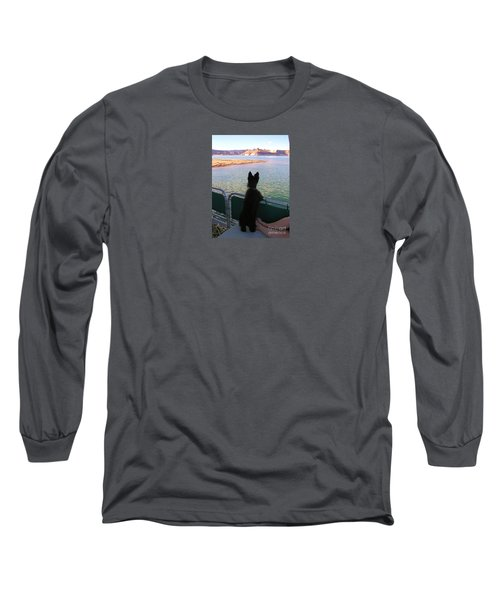 What A View Long Sleeve T-Shirt by Michele Penner