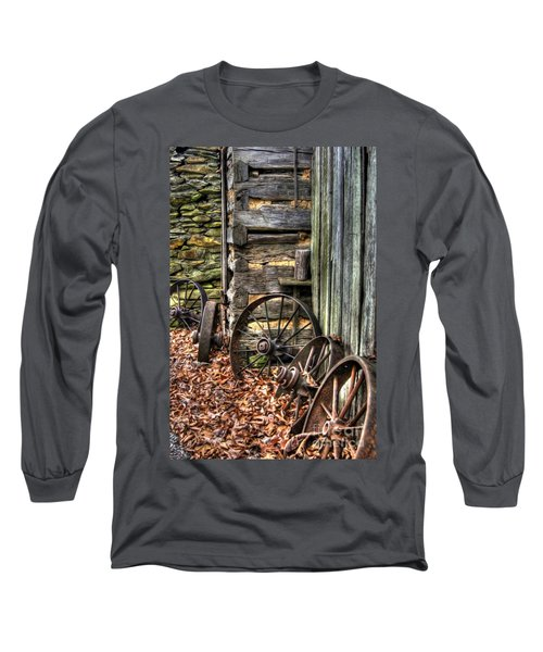 Wheels Of Time Long Sleeve T-Shirt by Benanne Stiens