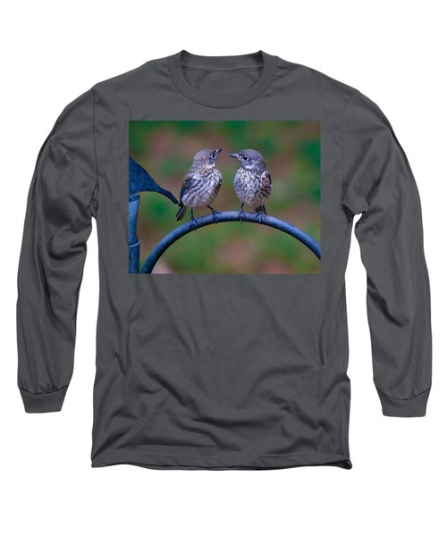 When's Dad Coming Back? Long Sleeve T-Shirt by Robert L Jackson