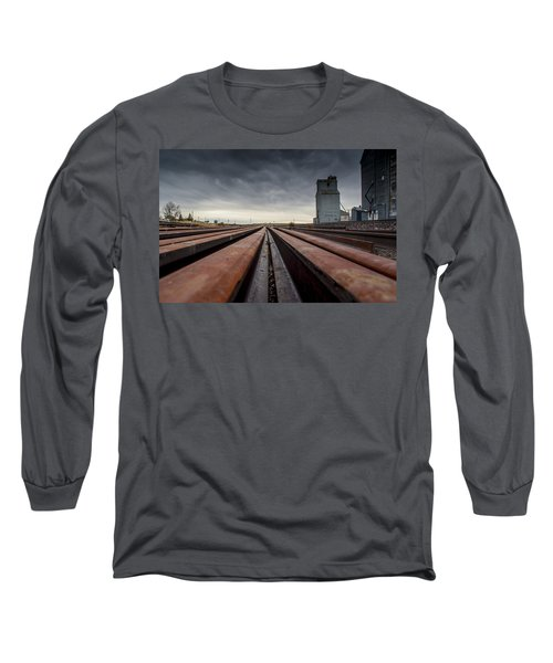 Where It Goes-2 Long Sleeve T-Shirt by Fran Riley