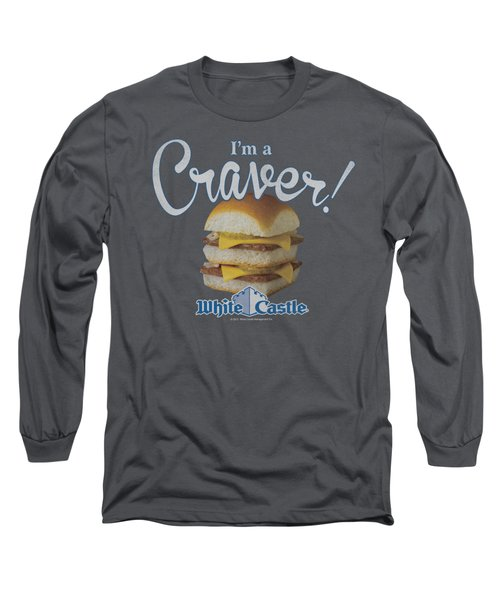 White Castle - Craver Long Sleeve T-Shirt by Brand A