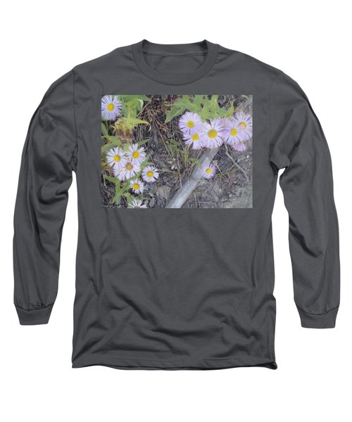Long Sleeve T-Shirt featuring the photograph White In The Wild by Fortunate Findings Shirley Dickerson