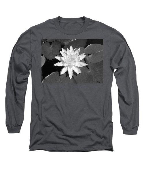 White Lotus 2 Long Sleeve T-Shirt by Ellen Henneke