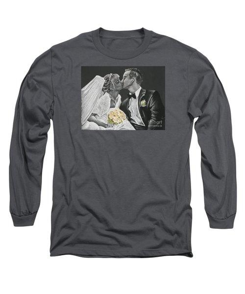 White Wedding Long Sleeve T-Shirt