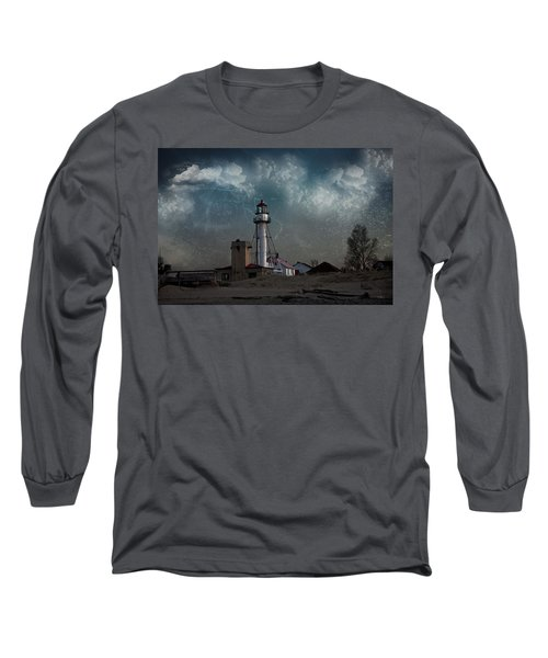 Whitefish Point Lighthouse Lake Superior Long Sleeve T-Shirt